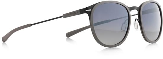Obrázek z sluneční brýle SPECT SPECT Sun glasses, SKILL-003P, matt warm grey/smoke gr. wth silver flash POL, 50-21-140