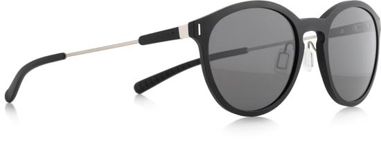 Obrázek z sluneční brýle SPECT SPECT Sun glasses, SOUND-001P, matt black/smoke gradient with gold flash POL, 54-16,6-140