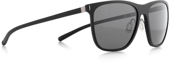 Obrázek z sluneční brýle SPECT SPECT Sun glasses, SOLID-001P, matt black/smoke gradient with gold flash POL, 54-16,6-140