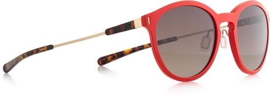 Obrázek z sluneční brýle SPECT SPECT Sun glasses, SOUND-003P, matt warm grey/smoke gr. wth silver flash POL, 54-16,6-140