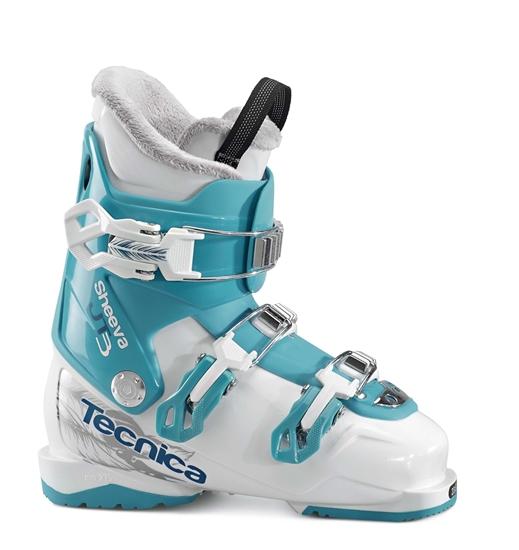 Obrázek z lyžařské boty TECNICA JT 3 Sheeva, white/blue bird