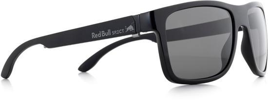 Obrázek z sluneční brýle RED BULL SPECT WING1-001P, shiny black/matt black temple/smoke POL