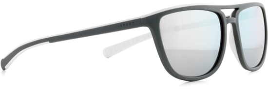 Obrázek z sluneční brýle SPECT SPECT Sun glasses, SPIKE-004P, matt military green/smoke with silver flash POL, 56-17-140
