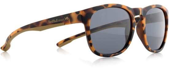 Obrázek z sluneční brýle RED BULL SPECT RB SPECT Sun glasses, OLLIE-002P, matt yellow tortoise/smoke POL, 53-20-140