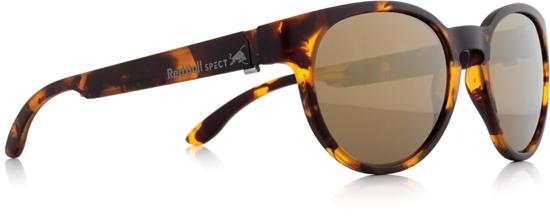 Obrázek z sluneční brýle RED BULL SPECT RB SPECT Sun glasses, WING4-006P, matt yellow/brown with gold mirror POL, 52-20-140
