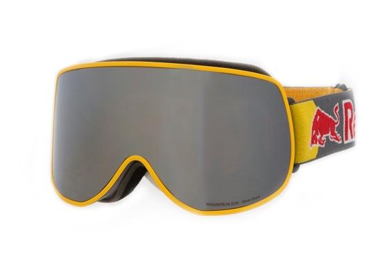 Obrázek z lyžařské brýle RED BULL SPECT MAGNETRON EON-004, matt yellow/silver snow