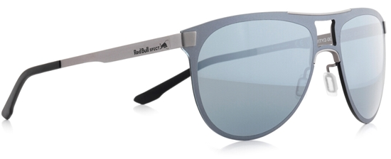 Obrázek z sluneční brýle RED BULL SPECT GRAVITY2-002, matt graphite-matt gun/smoke with silver mirror