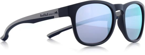 Obrázek z sluneční brýle RED BULL SPECT OLLIE-003P, matt dark blue/smoke with lilac flash POL