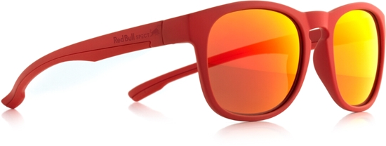 Obrázek z sluneční brýle RED BULL SPECT OLLIE-006P, matt red/smoke with red revo POL