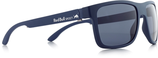 Obrázek z sluneční brýle RED BULL SPECT RB SPECT Sun glasses, WING1-005P, matt dark blue/smoke POL, 56-17-145