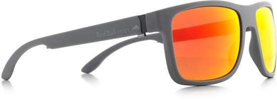 Obrázek z sluneční brýle RED BULL SPECT RB SPECT Sun glasses, WING1-006P, matt dark grey/smoke with red REVO POL, 56-17-145