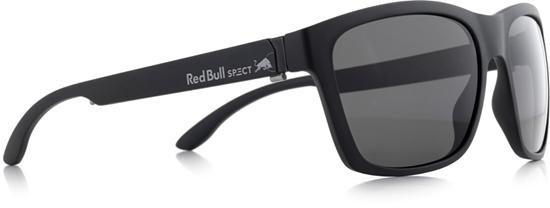 Obrázek z sluneční brýle RED BULL SPECT RB SPECT Sun glasses, WING2-001P, matt black/smoke POL, 57-17-145
