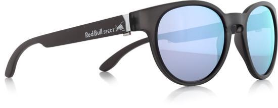 Obrázek z sluneční brýle RED BULL SPECT RB SPECT Sun glasses, WING4-002P, matt transparent/smoke with purple mirror POL, 52-20-140