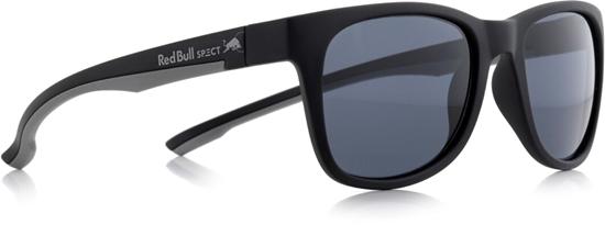 Obrázek z sluneční brýle RED BULL SPECT INDY-001P, matt black/grey/smoke POL