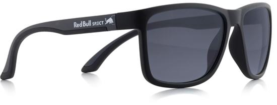 Obrázek z sluneční brýle RED BULL SPECT TWIST-012P, matt black/matt grey temple/smoke POL