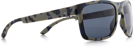 Obrázek z sluneční brýle RED BULL SPECT RB SPECT Sun glasses, WING1-004P, matt camouflage/smoke POL, 56-17-145