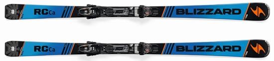 Obrázek z set sjezdové lyže BLIZZARD RC Ca, blue/black, 17/18 + vázání TP10 DEMO, blk./ant./ora., 17/18