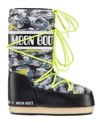 Obrázek boty MOON BOOT T-REX JR, 002 black/green