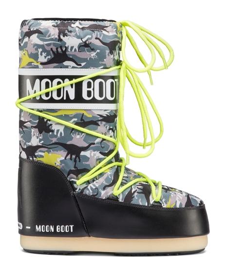 Obrázek z boty MOON BOOT MOON BOOT T-REX JR, 002 black/green