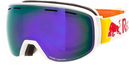 Obrázek lyžařské brýle RED BULL SPECT BARRIER-010, matt white/purple snow