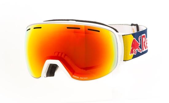 Obrázek z lyžařské brýle RED BULL SPECT BARRIER-011, shiny white/red snow