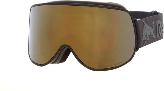 Obrázek z lyžařské brýle RED BULL SPECT Goggles, MAGNETRON EON-001, matt black frame/dark anthracite headband, lens: gold snow CAT3