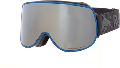 Obrázek lyžařské brýle RED BULL SPECT RB SPECT Goggles, MAGNETRON EON-003, matt light blue/silver snow-smoke with silver mirror cat. S3