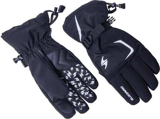 Obrázek z lyžařské rukavice BLIZZARD Reflex, black/silver