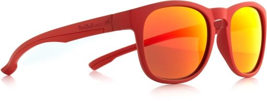 Obrázek z sluneční brýle RED BULL SPECT OLLIE-006, matt red/smoke with red revo