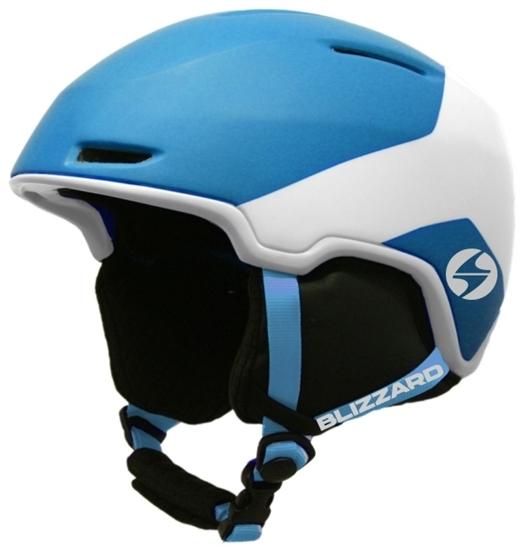 Obrázek z helma BLIZZARD Viper ski helmet, bright blue matt/white matt