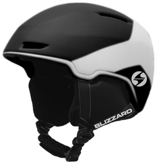 Obrázek z helma BLIZZARD Viper ski helmet, black matt/white matt