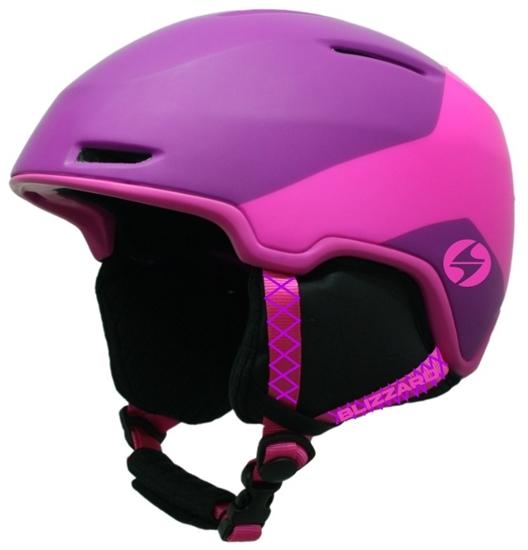 Obrázek z helma BLIZZARD Viva Viper ski helmet, violet matt/pink matt