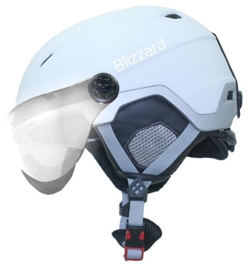 Obrázek z helma BLIZZARD Viva Double Visor ski helmet, white matt/silver, silver mirror