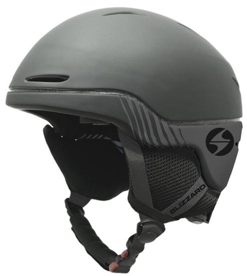 Obrázek z helma BLIZZARD II. quality Speed ski helmet, black matt/grey matt, AKCE