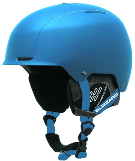 Obrázek z helma BLIZZARD Guide ski helmet, bright blue matt/white matt