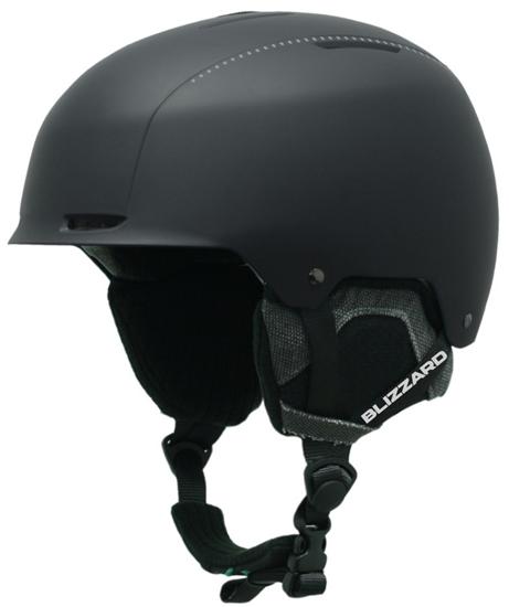 Obrázek z helma BLIZZARD Guide ski helmet, black matt/grey matt