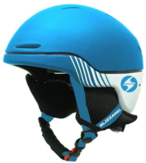 Obrázek z helma BLIZZARD II. quality Speed ski helmet, bright bue matt/white matt, AKCE
