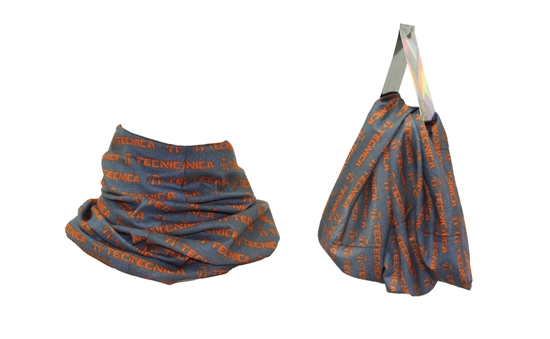 Obrázek z nákrčník TECNICA TECNICA Tube, grey/orange, size UNI