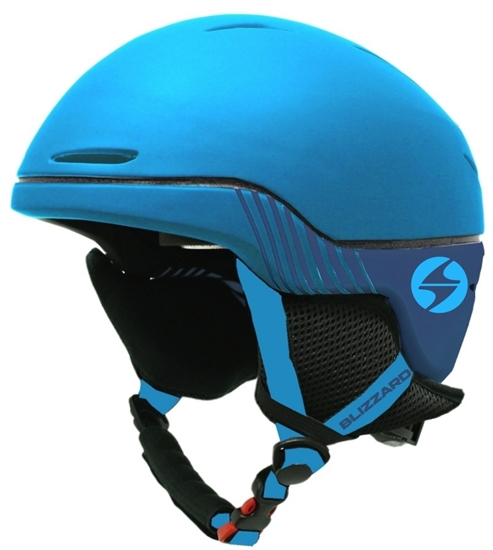 Obrázek z helma BLIZZARD Speed ski helmet junior, bright blue matt/dark blue matt