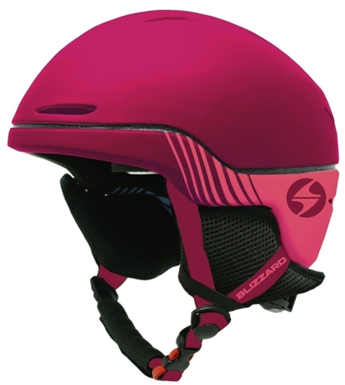 Obrázek z helma BLIZZARD Speed ski helmet junior, bordeaux matt/grey matt