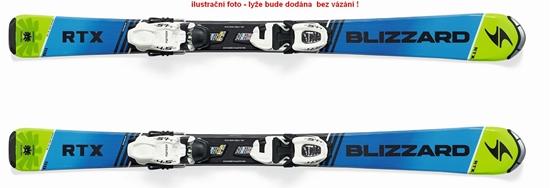 Obrázek z sjezdové lyže BLIZZARD RTX JR L, flat, blue/green, rental