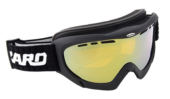 Obrázek z lyžařské brýle BLIZZARD Ski Gog. 912 MDAVZF, black matt, amber2-3, gold mir., photo, AKCE