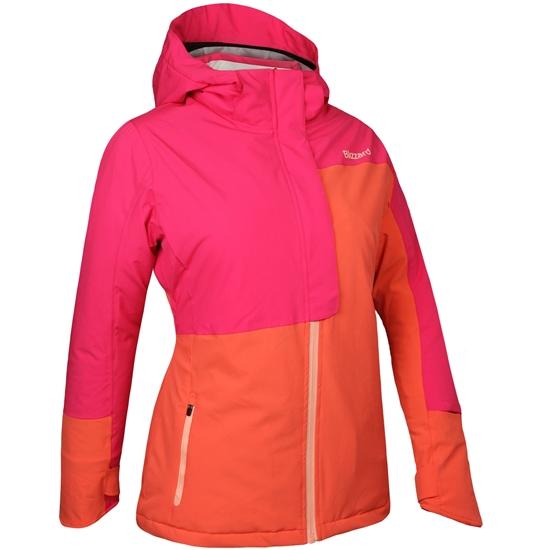 Obrázek z lyžařská bunda BLIZZARD Viva Jacket Hintertux, salmon/cramberry/coral, AKCE