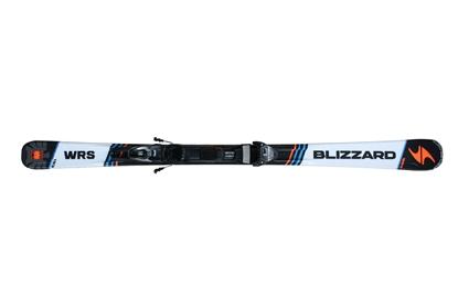 Obrázek set sjezdové lyže BLIZZARD BLIZZARD II. WRS IQ, orange/blue/black, 16/17 + vázání BLIZZARD  IQ TP 10 CM2, 16/17