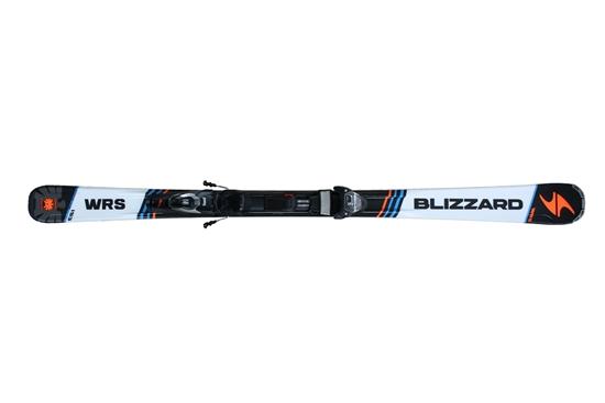 Obrázek z set sjezdové lyže BLIZZARD BLIZZARD WRS IQ, orange/blue/black, 16/17 + vázání BLIZZARD  IQ TP 10 CM2, 16/17