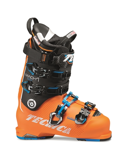 Obrázek z lyžařské boty TECNICA TECNICA Mach1 130 MV, bright orange/black, only shell, 16/17