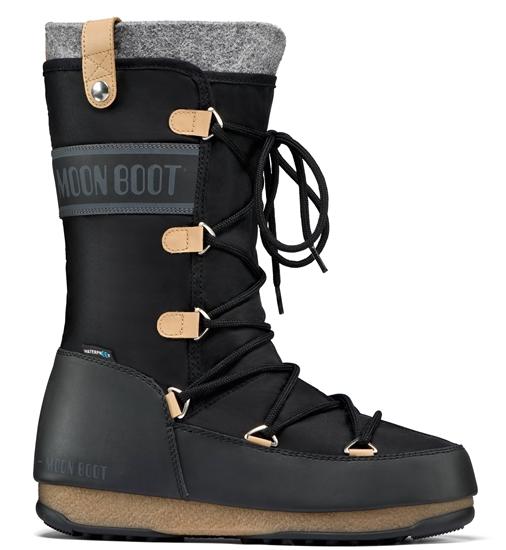 Obrázek z boty MOON BOOT MONACO FELT, 003 black