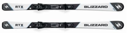 Obrázek set sjezdové lyže BLIZZARD RTX Power, white/anthracite TLT 10 DEMO, black/anth.