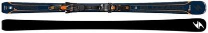 Obrázek set sjezdové lyžování BLIZZARD Quattro 7.4 Ti, blue/orange, 17/18 + vázání BLIZZARD TCX 12 DEMO, bla./ora./bl.