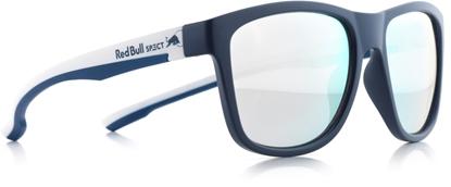 Obrázek sluneční brýle RED BULL SPECT BUBBLE-007P, matt dark blue/smoke with silver mirror POL